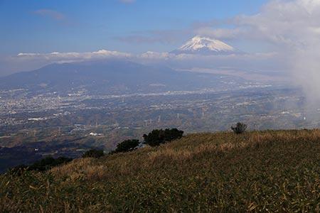 玄岳からの富士