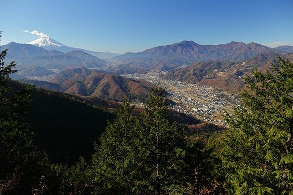 九鬼山・天狗岩からの眺め