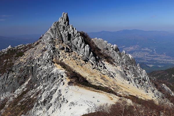 地蔵岳・オベリスク