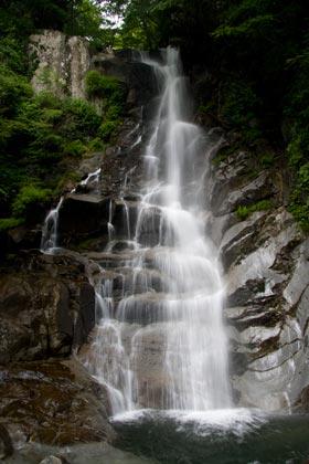 モロクボ沢F1大滝